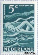 Nederland NL 509  1948 Sport en beweging 5+3 cent  Gestempeld