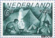 Nederland NL 515  1949 Zomermotieven 6+4 cent  Postfris