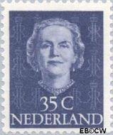 Nederland NL 527  1949 Koningin Juliana- Type 'En Face' 35 cent  Gestempeld