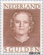 Nederland NL 536  1949 Koningin Juliana- Type 'En Face' 500 cent  Gestempeld
