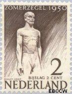 Nederland NL 550  1950 Wederopbouw 2+2 cent  Postfris