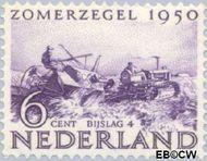 Nederland NL 553  1950 Wederopbouw 6+4 cent  Gestempeld