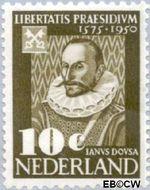 Nederland NL 561  1950 Leidse Universiteit 10 cent  Gestempeld