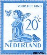 Nederland NL 567  1950 Kind en dieren 20+7 cent  Postfris