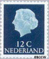 Nederland NL 618b  1967 Koningin Juliana- Type 'En Profile' 12 cent  Gestempeld