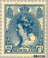 Nederland NL 63  1899 Koningin Wilhelmina- 'Bontkraag' 12½ cent  Postfris
