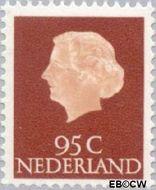 Nederland NL 636  1967 Koningin Juliana- Type 'En Profile' 95 cent  Postfris