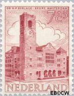 Nederland NL 657  1955 Gebouwen 7+5 cent  Postfris