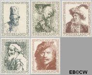 Nederland NL 671#675  1956 Rembrandt   cent  Gestempeld
