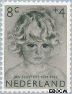 Nederland NL 704  1957 Meisjesportretten 8+4 cent  Postfris