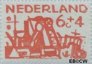 Nederland NL 723  1959 Deltawerken 6+4 cent  Gestempeld