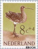 Nederland NL 754  1961 Vogels 8+4 cent  Gestempeld