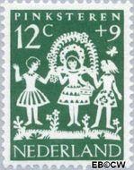 Nederland NL 762  1961 Feesten 12+9 cent  Gestempeld