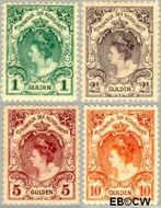Nederland NL 77#80  1899 Koningin Wilhelmina- 'Bontkraag'  cent  Gestempeld