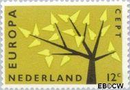 Nederland NL 777  1962 C.E.P.T.- Boom 12 cent  Gestempeld