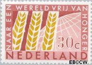 Nederland NL 785  1963 Anti-honger campagne U.N.O. 30 cent  Gestempeld
