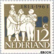 Nederland NL 809  1963 Onafhankelijkheid 12 cent  Postfris