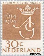 Nederland NL 817  1964 Universiteit Groningen 30 cent  Gestempeld