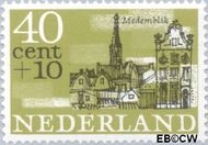 Nederland NL 846  1965 Steden 40+10 cent  Gestempeld