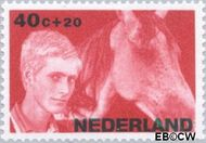 Nederland NL 874  1966 Levensstadia kind 40+20 cent  Gestempeld