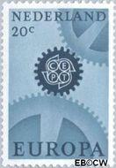 Nederland NL 882  1967 C.E.P.T.- Radarwerk 20 cent  Gestempeld