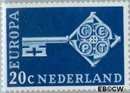 Nederland NL 906  1968 C.E.P.T.- Sleutel 20 cent  Gestempeld