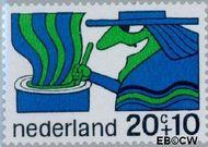 Nederland NL 914  1968 Sprookjesfiguren 20+10 cent  Gestempeld