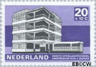 Nederland NL 922  1969 Architectuur 20+10 cent  Gestempeld