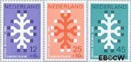 Nederland NL 927#929  1969 Kankerbestrijding  cent  Gestempeld
