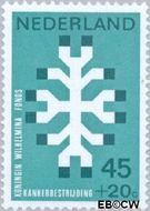 Nederland NL 929  1969 Kankerbestrijding 45+20 cent  Postfris