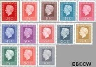 Nederland NL 939#951  1969 Koningin Juliana- Type 'Regina'  cent  Postfris