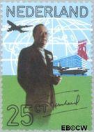 Nederland NL 994  1971 Prins Bernhard 25 cent  Gestempeld