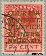 Nederland NL D11  1934 Cour Permanente de Justice 7½ cent  Gestempeld