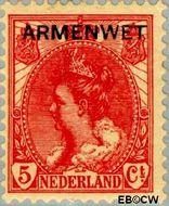 Nederland NL D6  1913 Armenwet 5 cent  Gestempeld