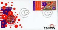 Nederland NL E323  1994 WK Voetbal- U.S.A.  cent  FDC zonder adres
