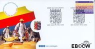 Nederland NL E457  2002 Provincie- zegel Noord-Holland  cent  FDC zonder adres