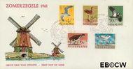 Nederland NL E47  1961 Vogels   cent  FDC zonder adres