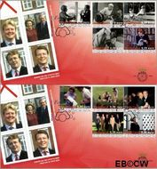 Nederland NL E493  2003 Koninklijk Huis  cent  FDC zonder adres