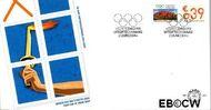 Nederland NL E501  2004 Bedrijfspostzegel met tab  cent  FDC zonder adres
