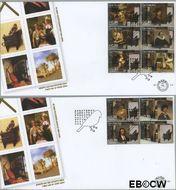 Nederland NL E504  2004 Carel Fabritius  cent  FDC zonder adres