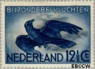 Nederland NL LP11  1938 Bijzondere vluchten 12½ cent  Gestempeld