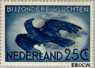 Nederland NL LP14  1953 Bijzondere vluchten 25 cent  Gestempeld