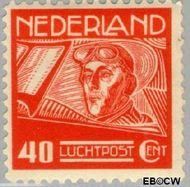 Nederland NL LP4  1928 Luchtrecht 40 cent  Gestempeld