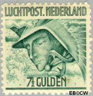 Nederland NL LP8  1929 Luchtrecht 750 cent  Gestempeld