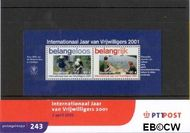 Nederland NL M243  2001 Vrijwilligerswerk  cent  Postfris
