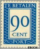 Nederland NL P103  1947 Portzegel 90 cent  Gestempeld