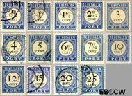 Nederland NL P13#P26  1894 Portzegel  cent  Gestempeld