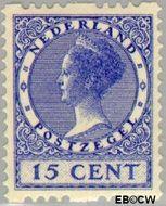 Nederland NL R26  1926 Type 'Veth' 15 cent  Gestempeld