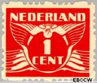 Nederland NL R34  1928 Type 'Lebeau' 1 cent  Gestempeld