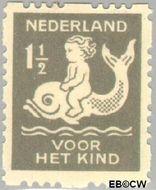Nederland NL R82  1929 Voor het kind 1½+1½ cent  Gestempeld